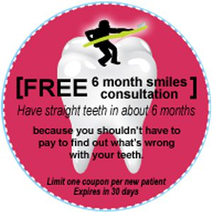 Minneapolis dentist Dr. Shamblott offers a Free 6 Month Smiles Consultation