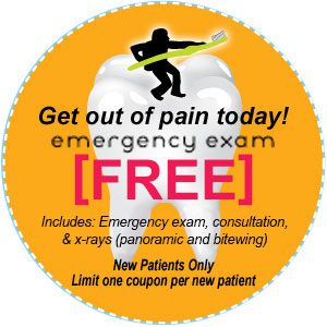 Minneapolis dentist Dr. Shamblott offers a Free Emergency Exam - New Patients Only