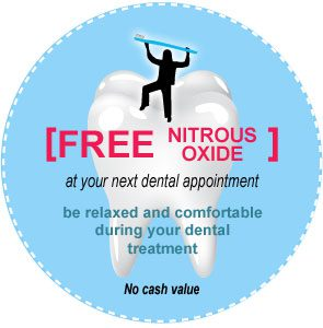 Hopkins Dentist offers Free Nitrous Oxide Laughing Gas