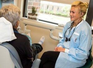 Dr. Elizabeth Turner DMD with Patient